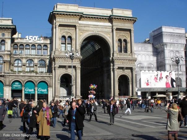 Galeria Vittorio Emanuele, Milão (Milano), Itália