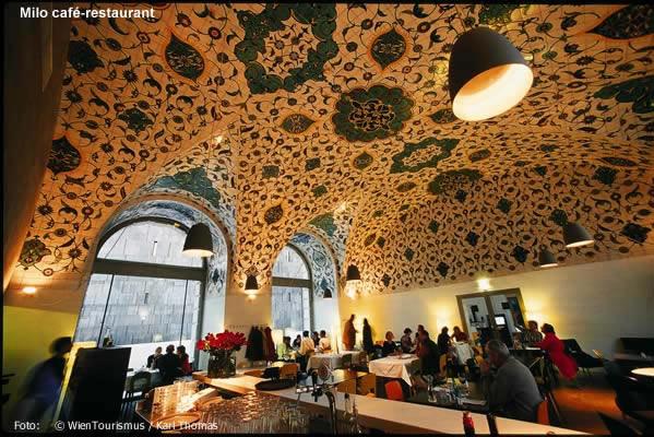 Milo Café em Viena, Áustria