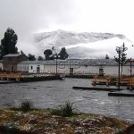 Neve em Vale del Colca, Peru