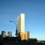 O prédio da ONU em New York, foto Barão
