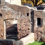 Ostia Antica, um sítio arqueológico muito bem preservado e perto de Roma