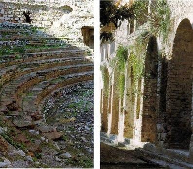 Odeon e Gimnasio Romano em Taormina