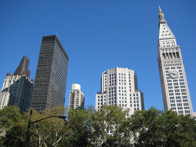Os buildings de Manhattan, foto Barão