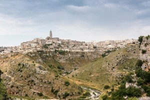 Paisagem na Basilicata