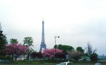 Primavera em Paris, França