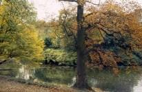 Paris, os parques no começo do outono
