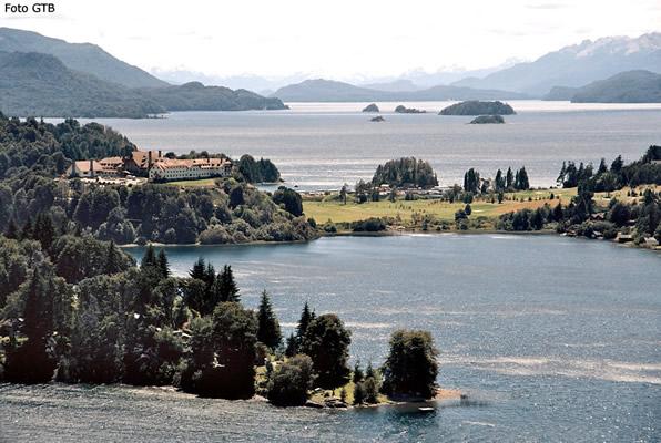 Península Lla-Llao, região de Bariloche