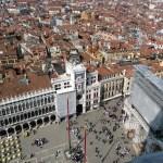 Piazza San Marco vista do alto, Veneza