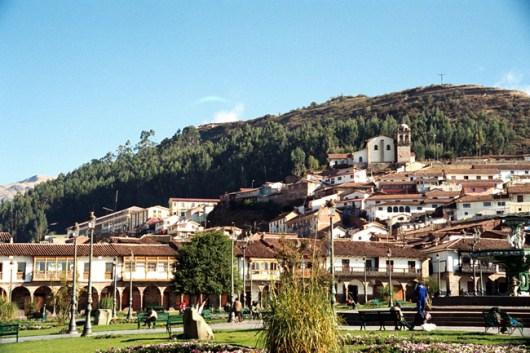 Plaza de Armas, em Cusco
