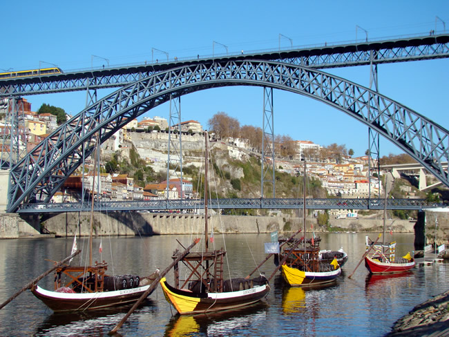 Ponte Dom Luís, Cidade do Porto, Portugal