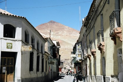Potosi, Cerro Rico ao fundo