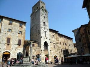 Praça da Sisterna, San Gimignano