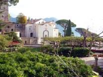 Os jardins de Ravello, Itália