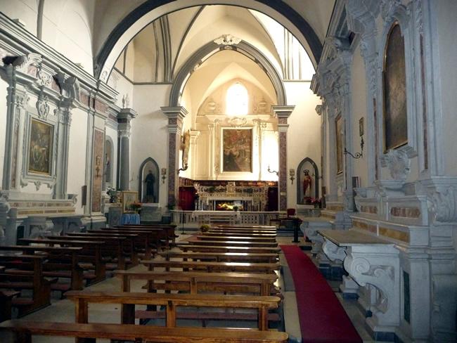 Interior do Duomo de Ravello