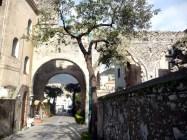 Passagem em Ravello, Itália