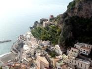Vista da Costa Amalfitana a partir de Ravello