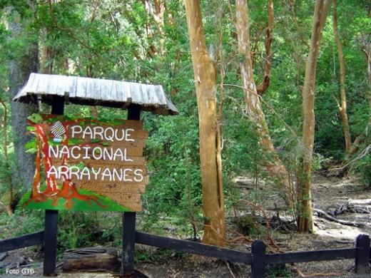 Região de Bariloche, Parque Arrayanes