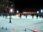 Rinque de patinação no gelo em frente ao Hotel de Ville, Paris