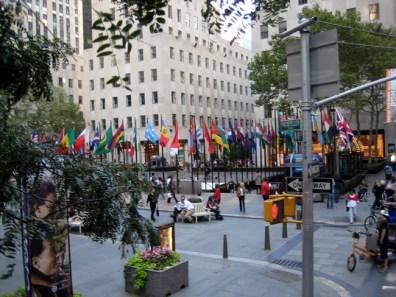 Rockefeller Center em New York, foto Barão