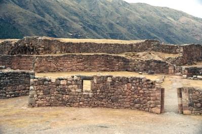 Ruínas incas no Vale Sagrado - Foto Manual do Turista
