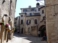 Rua de Assis, na Umbria, Itália