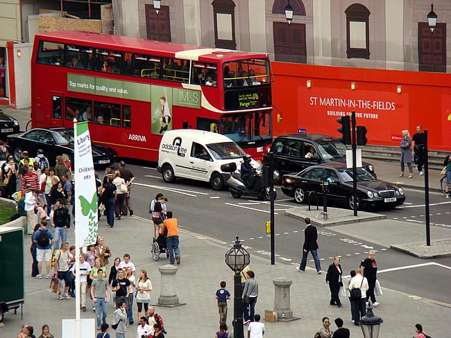 Rua em Londres