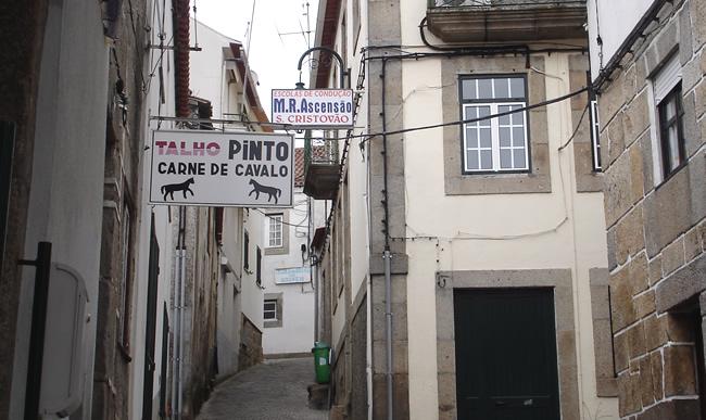Rua em Manteigas, Serra da Estrela