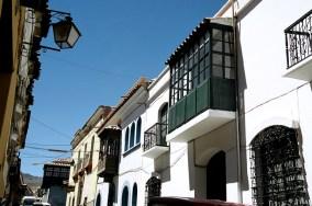 Rua em Sucre, Bolívia