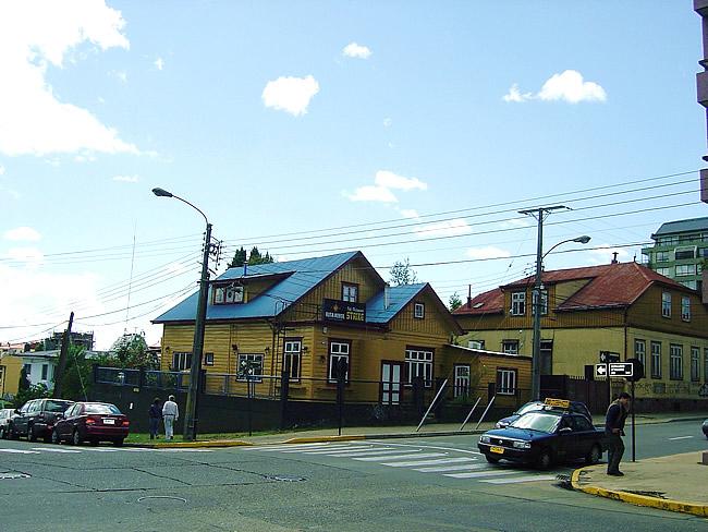 Rua em Valdívia, Chile