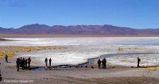 Salar de Uyuni, Bolívia, em pleno Altiplano