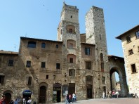 San Gimignano, na Toscana
