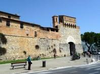 San Gimignano, protegida por muralhas medievais