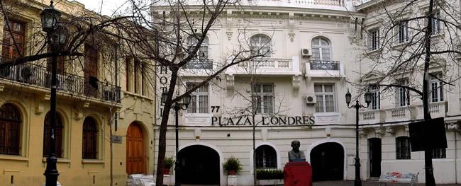 Santiago do Chile, Hotel Plaa Londres Foto RLGNZLG - CCBY