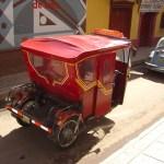 Scooter-táxi em Puno, Peru