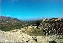 Teatro de Segesta, Sicilia