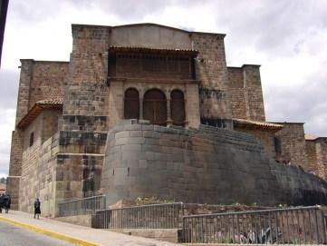Templo de Coricancha, em Cusco. no Peru