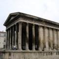 Templo romano em Nimes, França