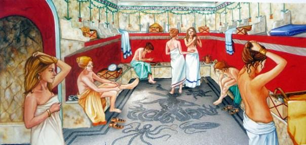 Termas de Caracalla, em Roma (reconstituição)