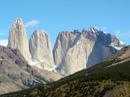 Torres del Paine, Chile, os picos