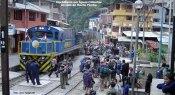 Trem em Aguas Calientes, Peru
