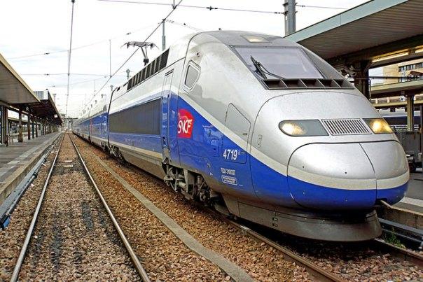 Trem na França, TGV - Foto Dennis Jarvis - CCBY SA