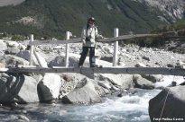 Trilha na Patagônia andina