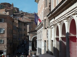 Centro histórico de Urbino, na Itália