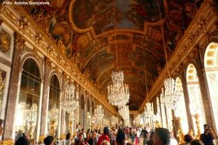 Versalhes, França, Gallerie des Glaces