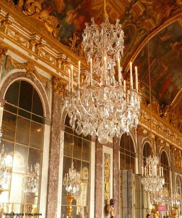 Versalhes, França, Interior do Chateau