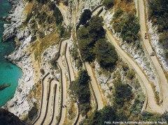 Via Krupp, Capri, Itália
