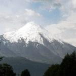 Villarrica, no sul do Chile