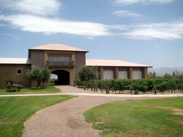 Vinícola na Província de Mendoza, Argentina