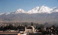 Vulcão El Misti, em Arequipa, Peru