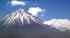 Vulcão no deserto do Atacama, Chile